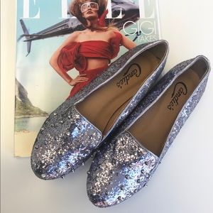 Glitter Studded Loafers 💕